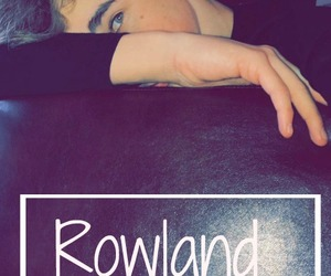 hunter, teamrowland, and rowland image