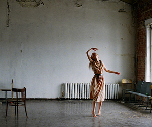 dance, alone, and girl image