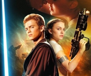 Anakin Skywalker, padme, and star wars image