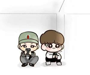 army, asian, and chibi image