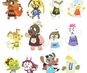 animal crossing and overwatch image