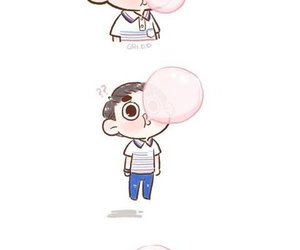 exo, so cute, and fanart image
