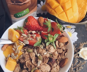 breakfast, food, and motivation image
