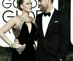 blake lively, ryan reynolds, and golden globes image