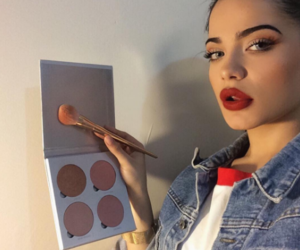 girl, icon, and makeup image