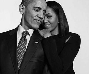 obama, michelle obama, and barack obama image