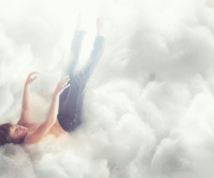 boy, clouds, and Dream image