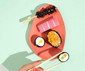 food, japanese, and pop art image