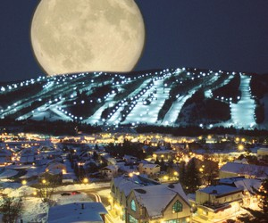 moon, quebec, and st sauveur image