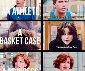 Breakfast Club, quotes, and heart it image