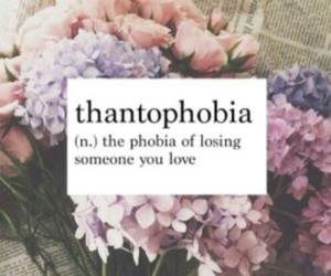 love, phobia, and flowers image
