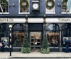 christmas, architecture, and tiffany image