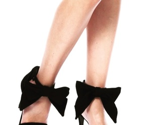 black, chaussure, and mode image