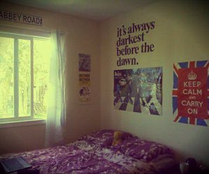 abbey road, bedroom, and design image