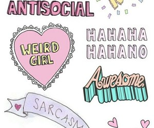 antisocial, love, and grunge image