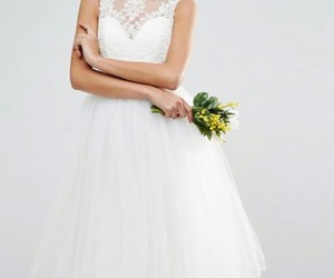 wedding dress wite image