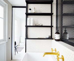 chic, kitchen, and industrial image