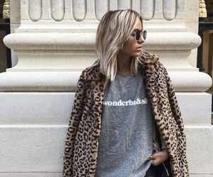 fashion, faux fur, and style image