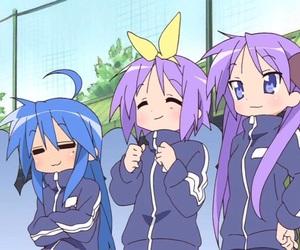 anime, lucky star, and kagami image