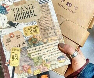 travel, journal, and tumblr image