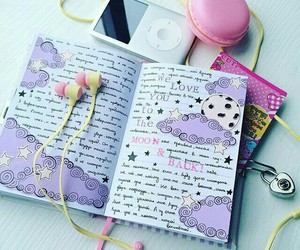 diary and notepad image