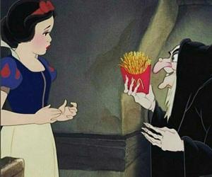 disney, snow white, and apple image