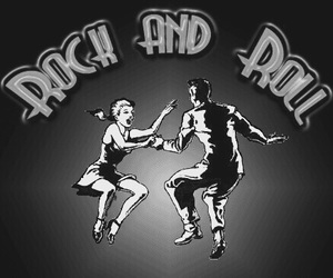 music, rock and roll, and dance image