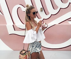 hair, ice cream, and style image