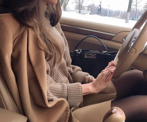 beautiful, beige, and car image