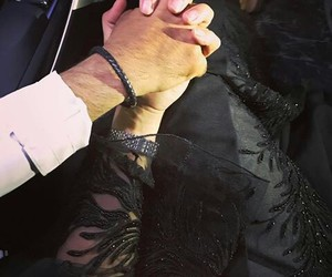 couple, black, and holding hands image