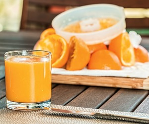 orange juice, oranges, and juice benefits image