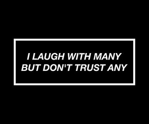 quotes, trust, and black image