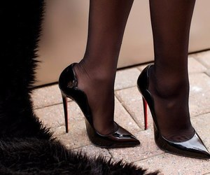 shoes, heels, and girl image