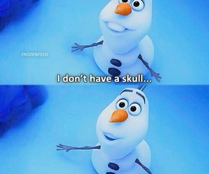 olaf, snowman, and frozen image