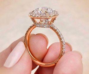 diamonds and ring image