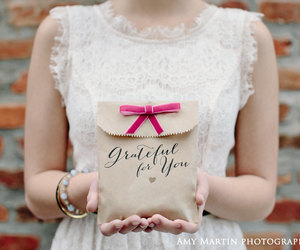 brown bag, baby shower, and bridal shower image