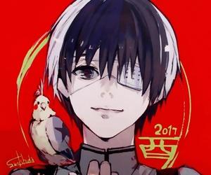 tokyo ghoul, kaneki ken, and anime image