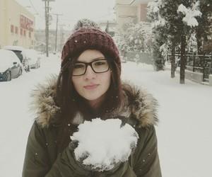 cold, girl, and Greece image
