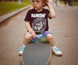 ramones, boy, and skate image