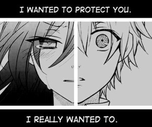boy, protect+, and cry image