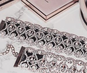 diamond, choker, and luxury image