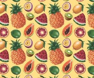 background, fruit, and lemon image