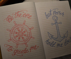 anchor, photography, and quote image