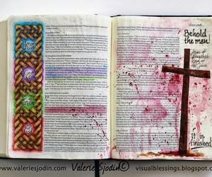 art, christian, and cross image