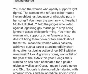 tumblr, ariana grande, and text post image