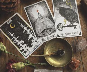 magic, witchcraft, and tarot image