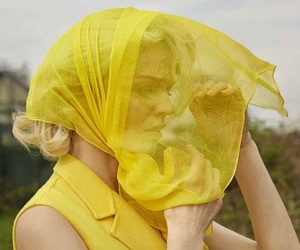 yellow and woman image