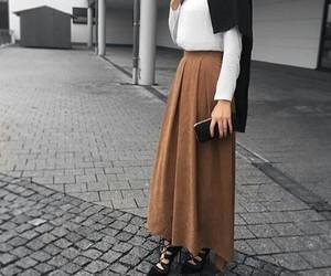 hijab, fashion, and beauty image
