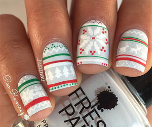 winter nails, winter nail art, and winter nail designs image