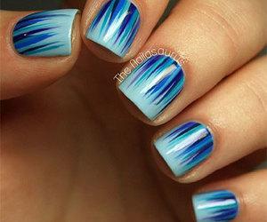 winter nails, winter nail art, and winter nail designs image
